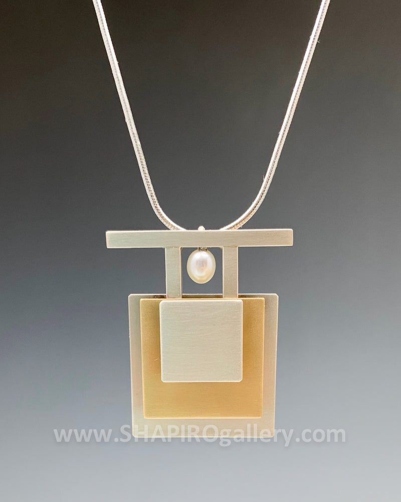 Tribal Square Necklace
