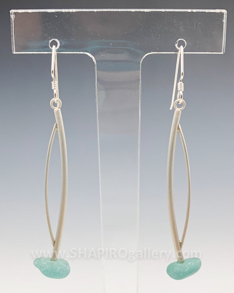 Glass Drop Earrings