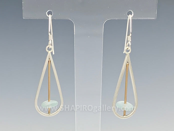 Tumbled RainDrop Earrings