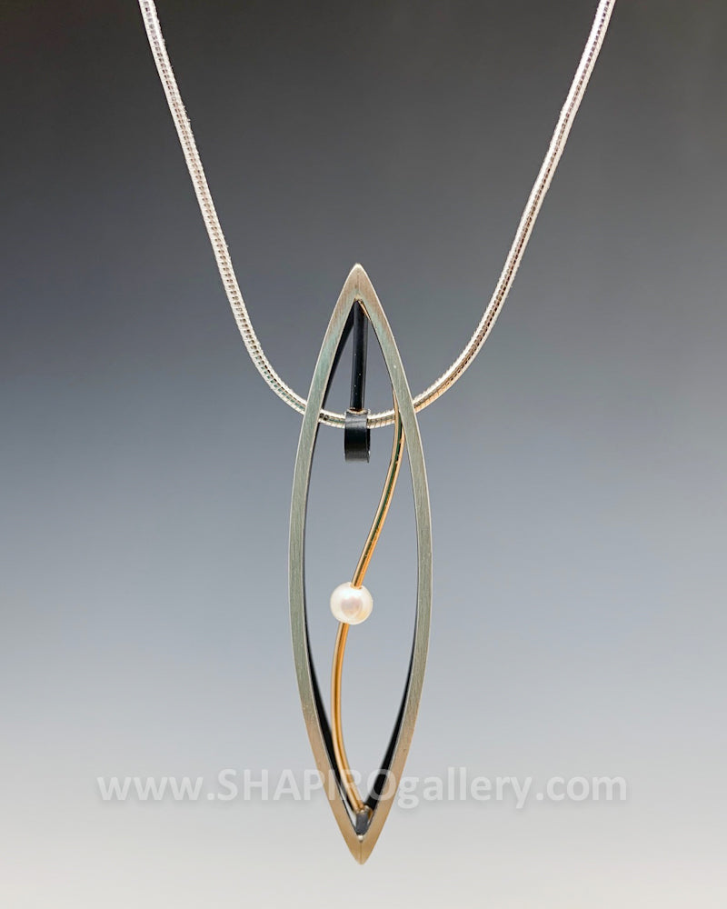 3D Ellipse Necklace