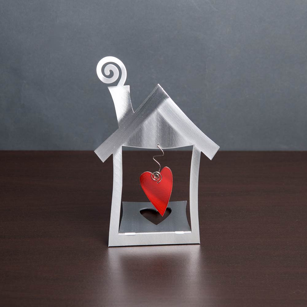 Heart and Home Tabletop Sculpture