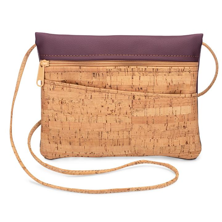 Crossbody Hip Bag Wine Back