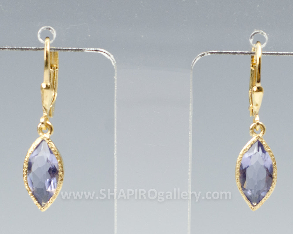 Iolite Marquise Earrings