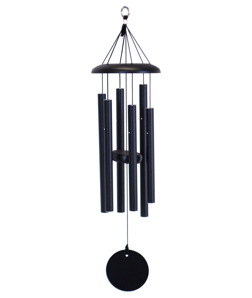 "27"" Wind Chime - Black"