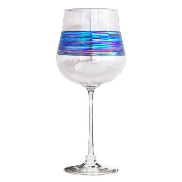 Rainbow Spun Clear Stemware (multiple styles)
