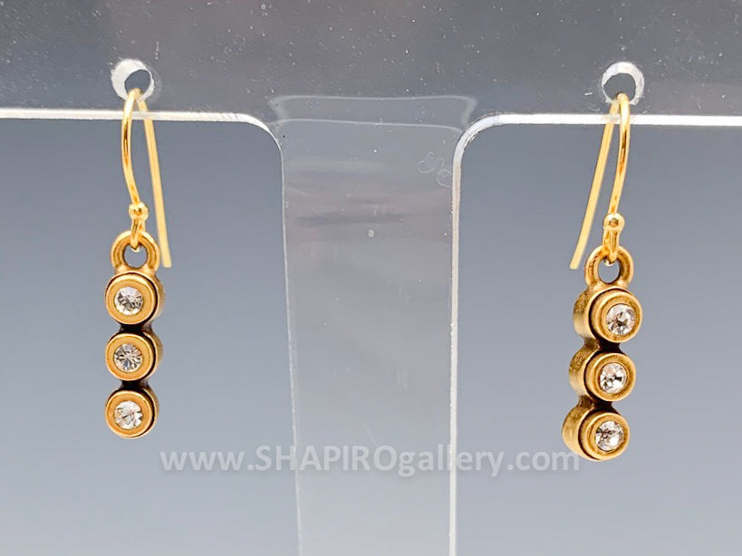 Three Cylinder Earrings