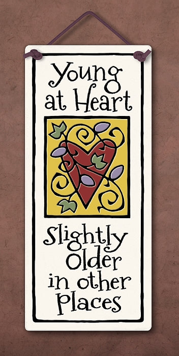 ''Young at heart, slightly older in other places''