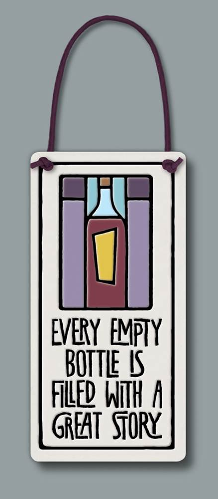 Every empty bottle...
