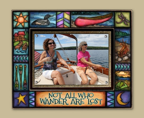 Not all who wander Frame