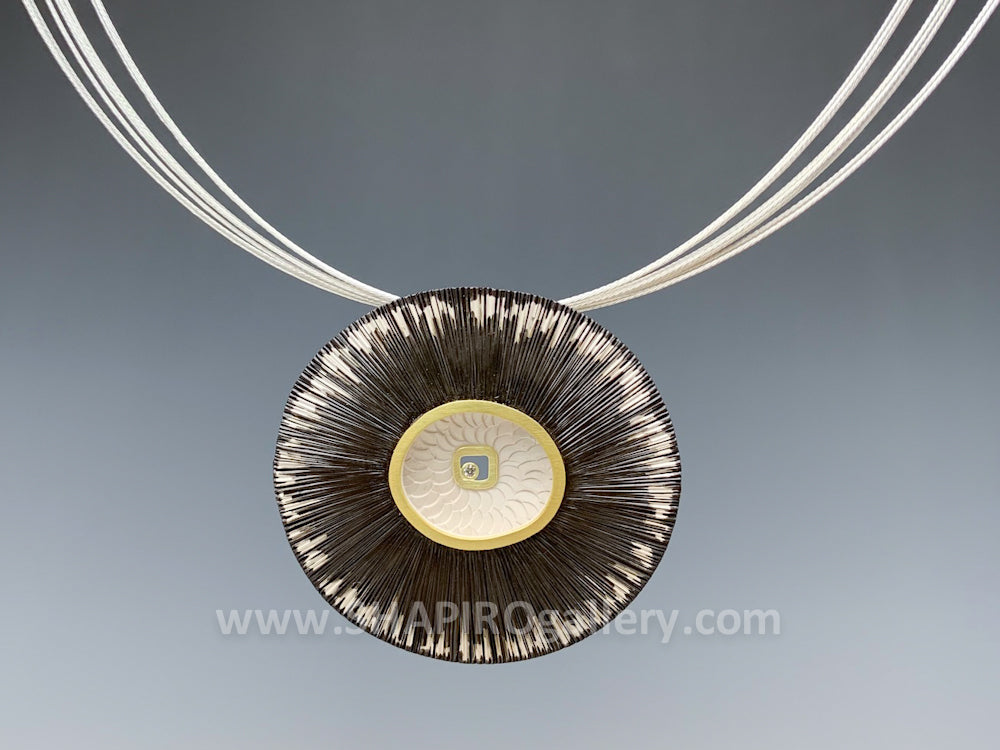 Shell and Sea Necklace with Diamond