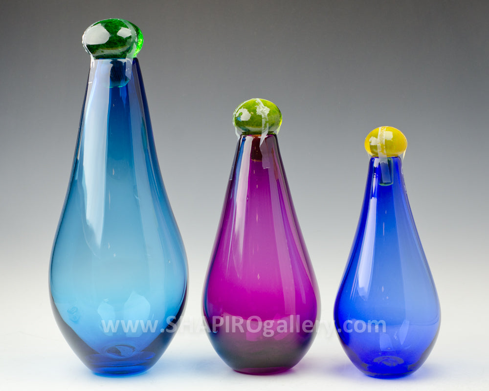 Large Genie Bottles Set of Three