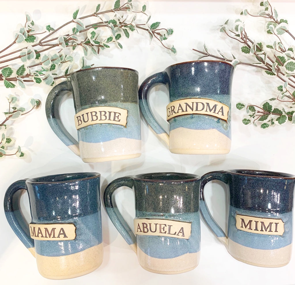 Grandparent Name Mugs (multiple names available)