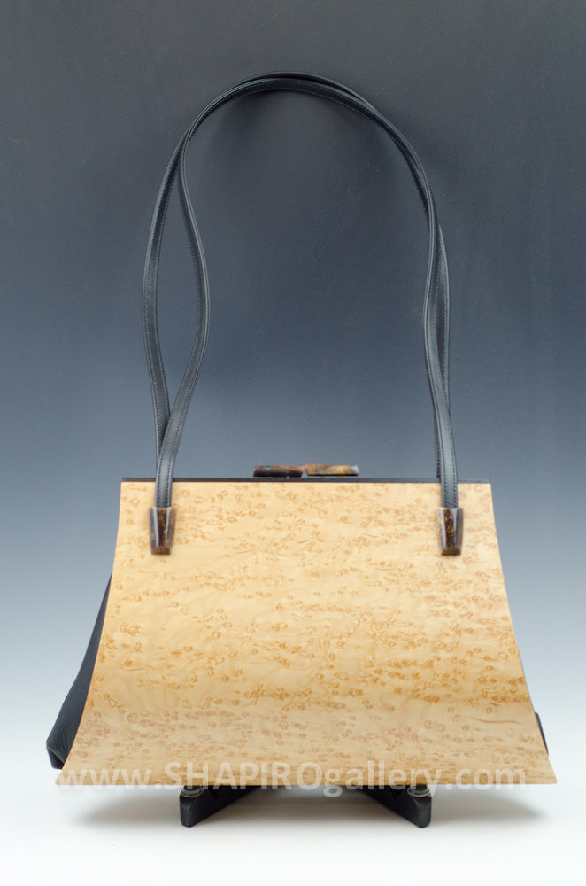 Aristea Wood Handbag