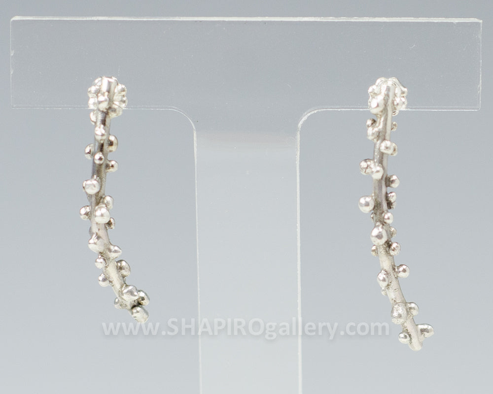 Curved Twig Earrings