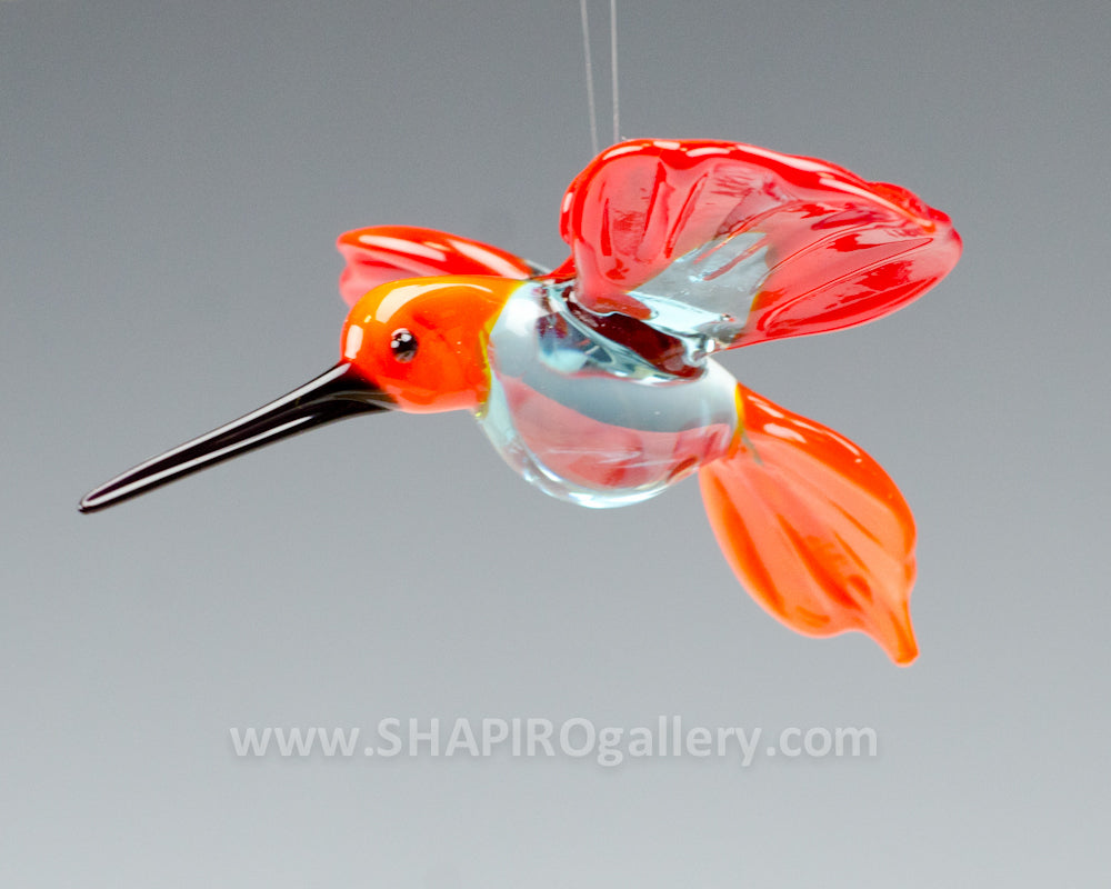 Small Glass Hummingbird