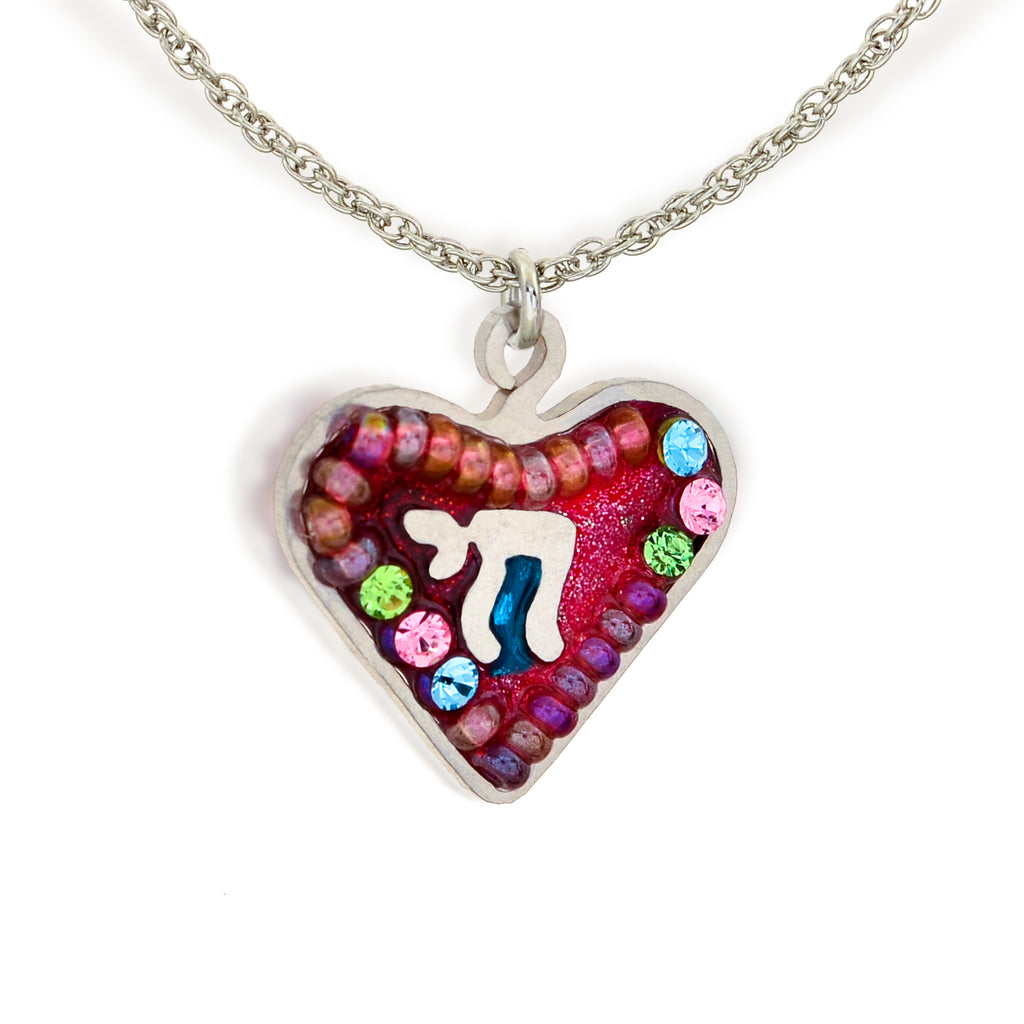 Heart and Chai Necklace