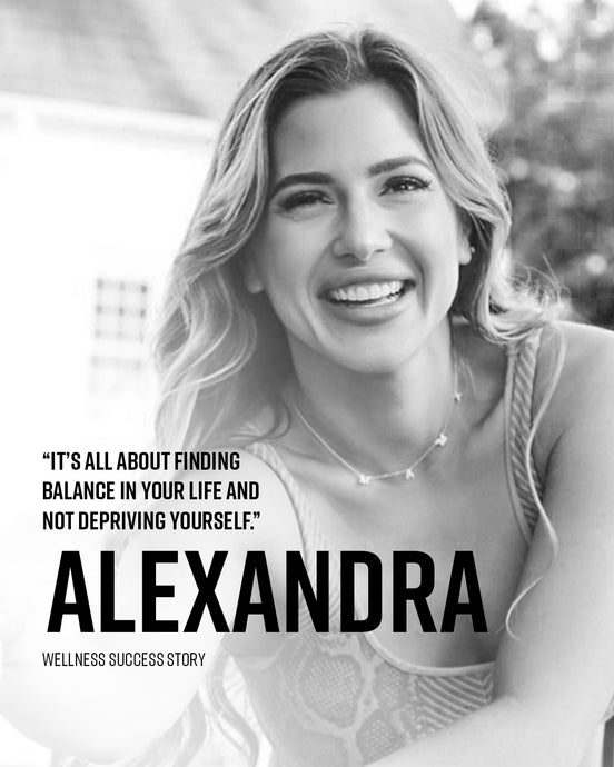 Alexandra Kay: it's all about finding balance in your life and not depriving yourself