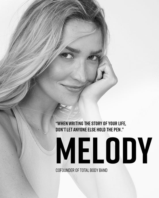 MELODY KANDIL: When Writing the Story of Your Life Don't Let Anyone Else Hold the Pen
