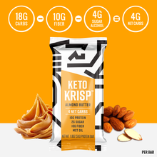 Load image into Gallery viewer, Keto Krisp - Keto Bar Variety Protein Pack (12-Pack)