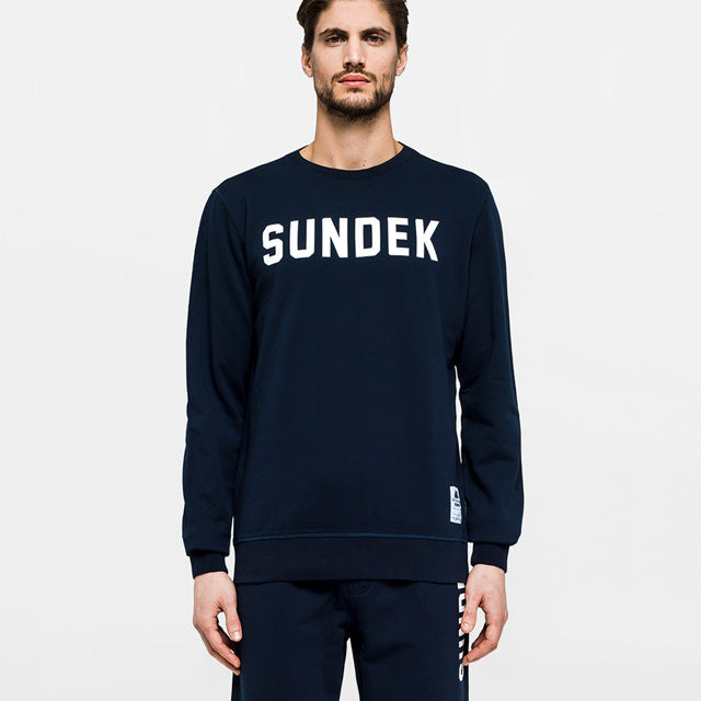 Sundek Fleece with print - Long Sleeve