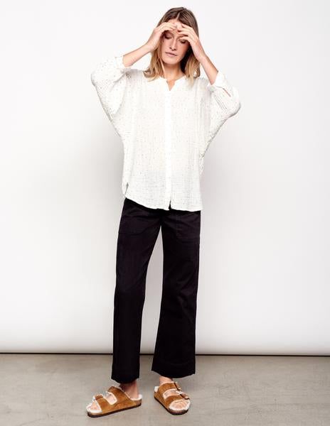 Sundry Dots Blouse
