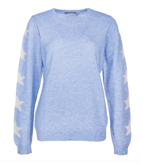 BRODIE CASHMERE Northern Star Cashmere Sweater