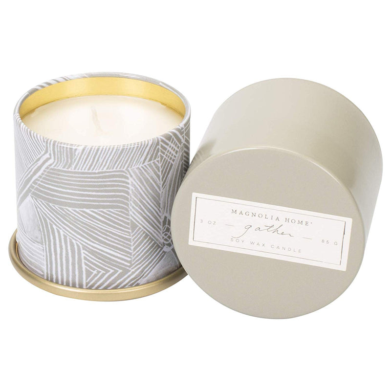 Magnolia Tin 3 oz Candle