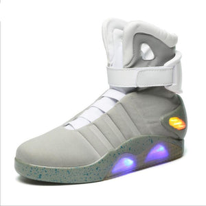 Back To The Future Men LED Light Up Shoes Limited Edition