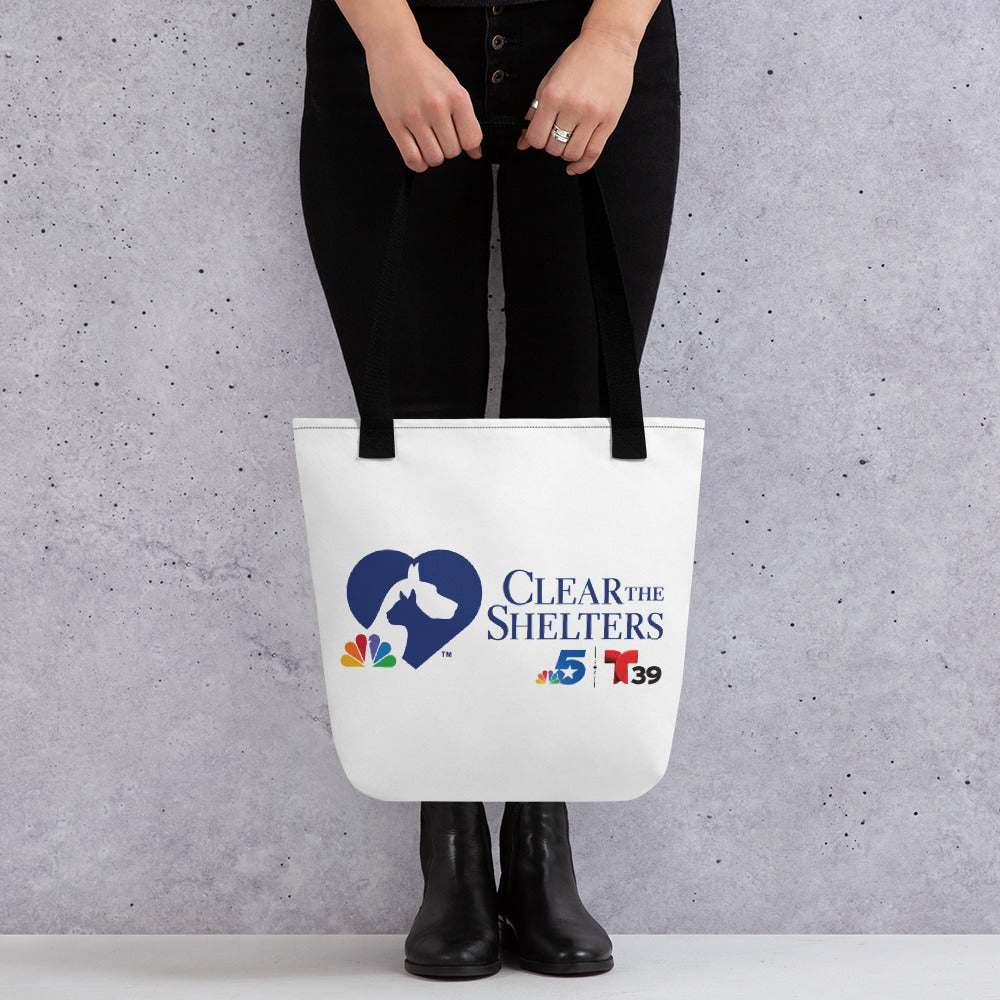 Clear The Shelters Tote bag