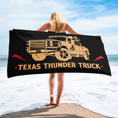 Texas Thunder Truck Towel
