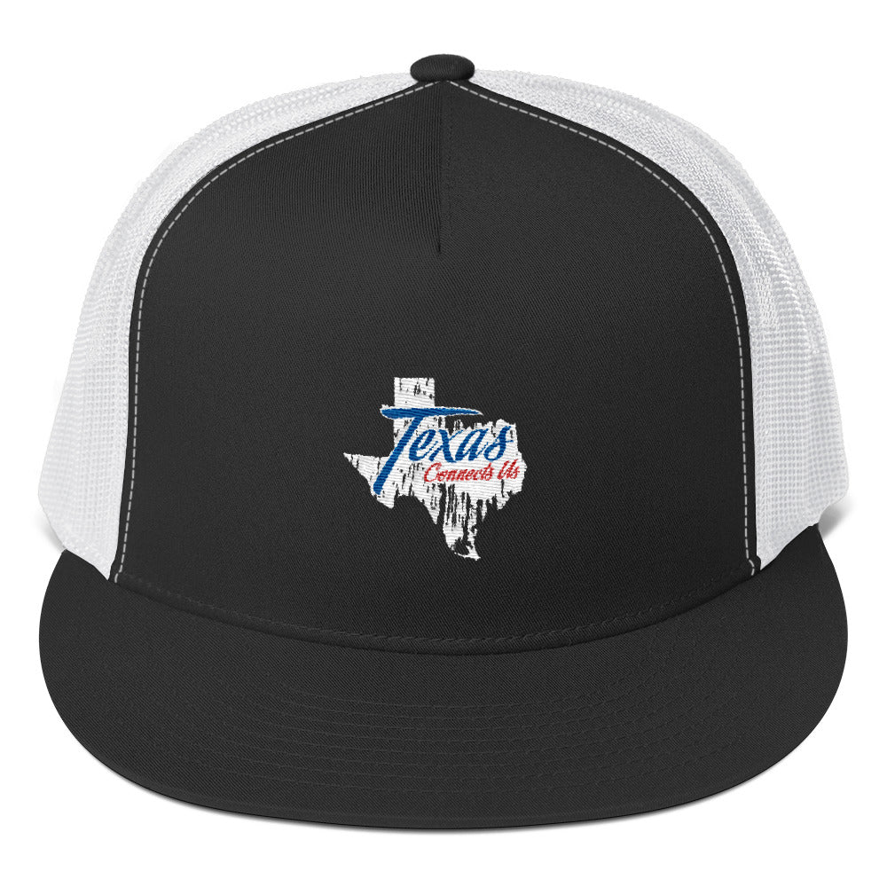 Texas Connects Us Trucker Hat