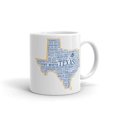 Texas Cities Mug