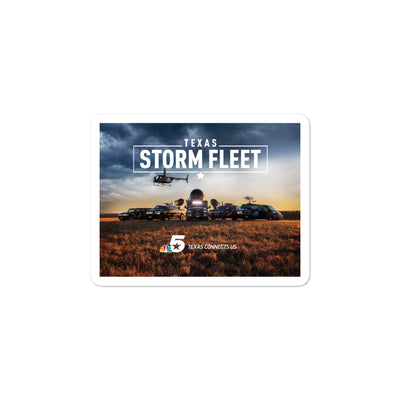 Texas Storm Fleet Sticker