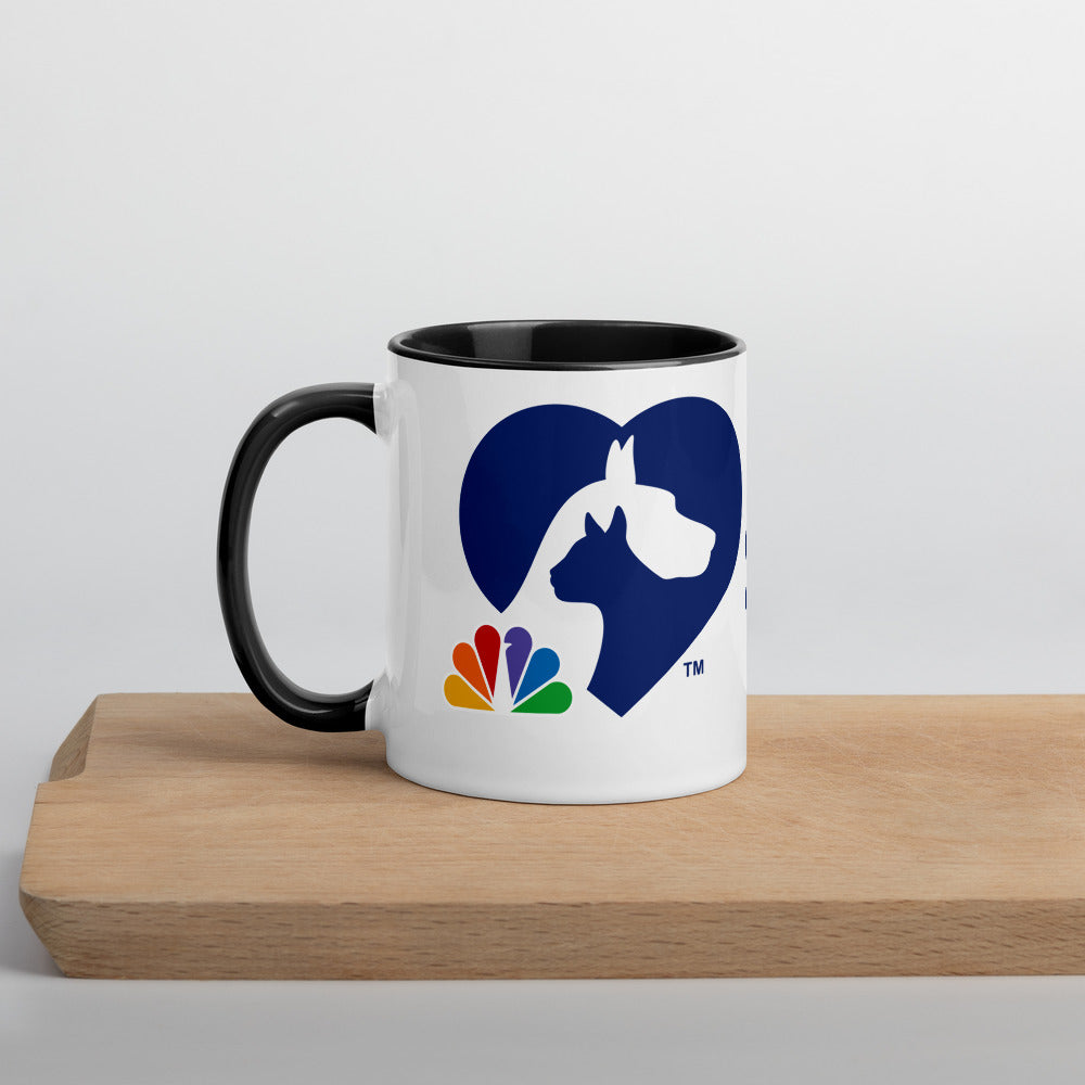 Clear The Shelters Mug with Color Inside