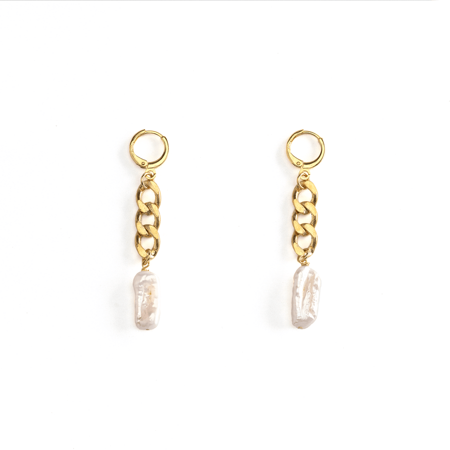 Emma Cuban Earrings