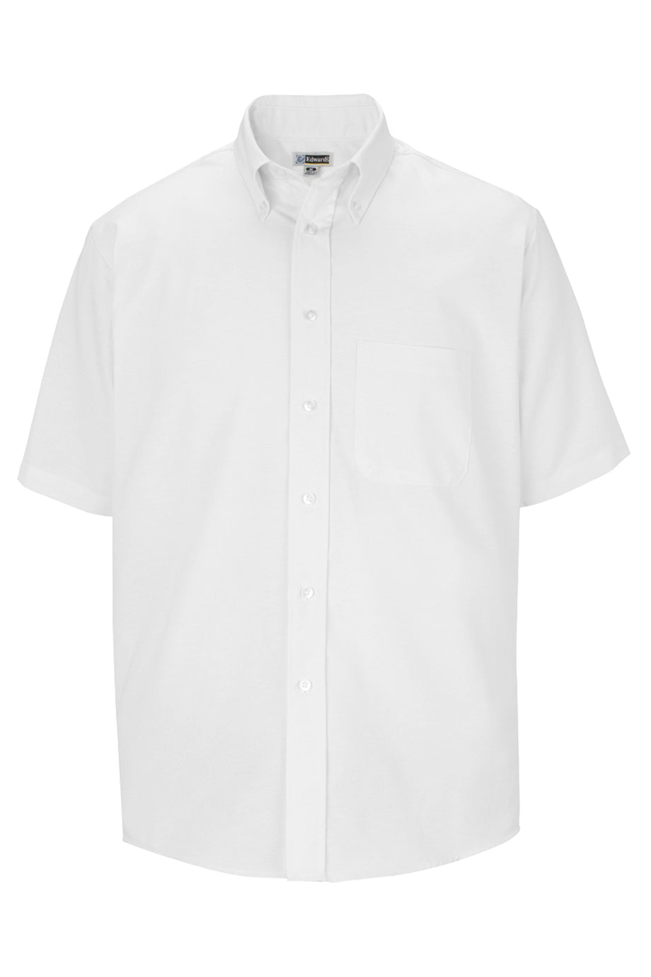 Edwards Mens Short Sleeve Oxford Shirt