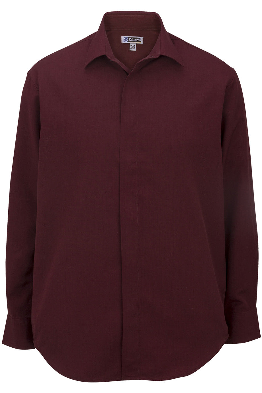 Burgundy 1291 Batiste Fly Shirt
