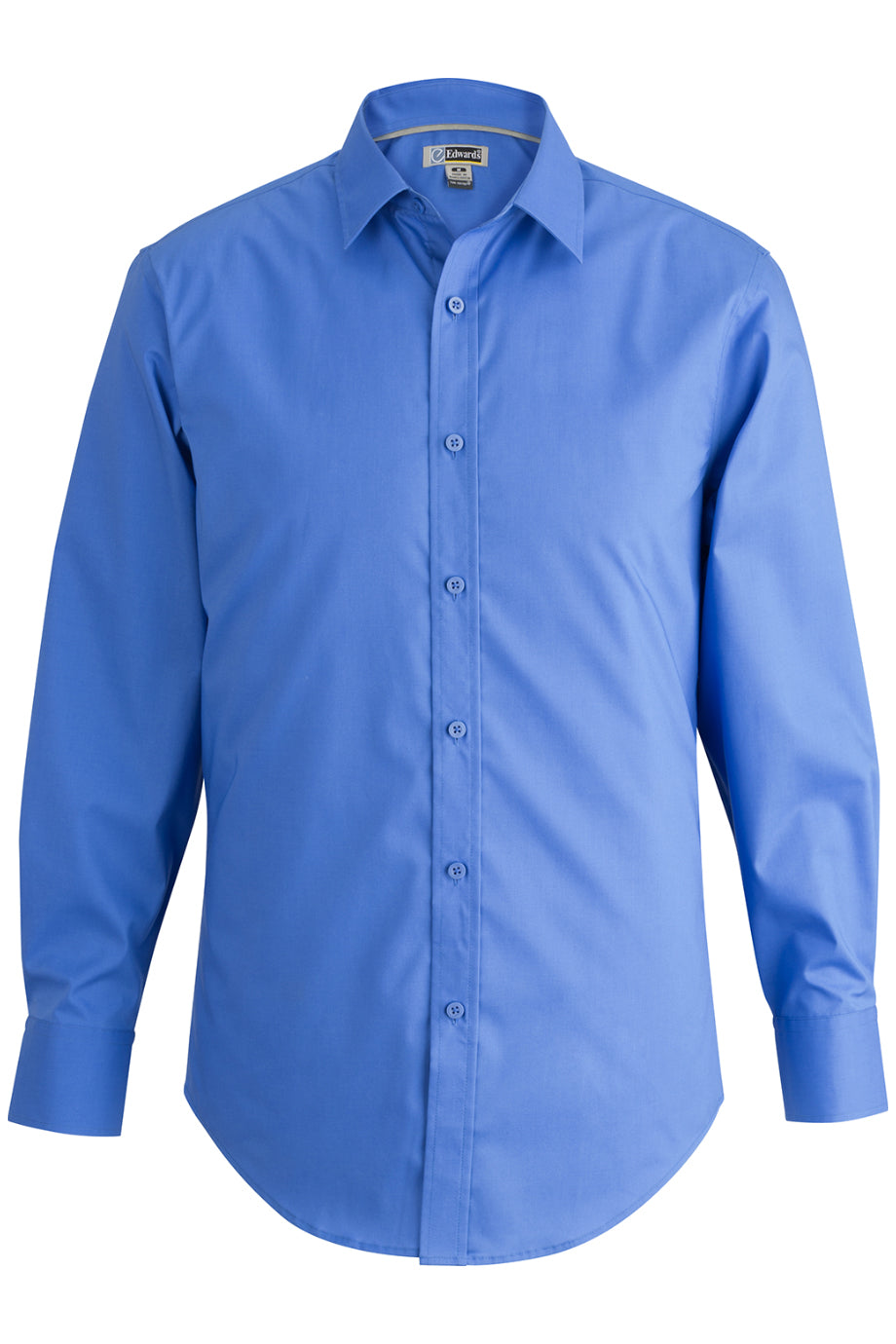 French Blue Edwards Mens L/S Stretch Broadcloth Shirt