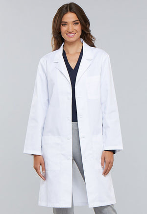 "White 40"" Unisex Cherokee Lab Coat"