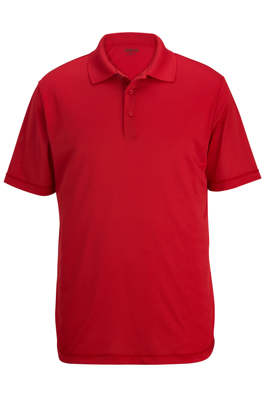 Red Edwards Mens Durable Performance Polo