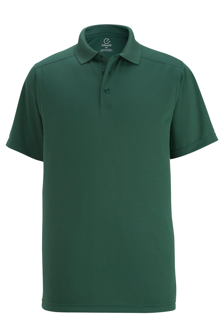 Fern Green Edwards Mens Snag-Proof Short Sleeve Polo