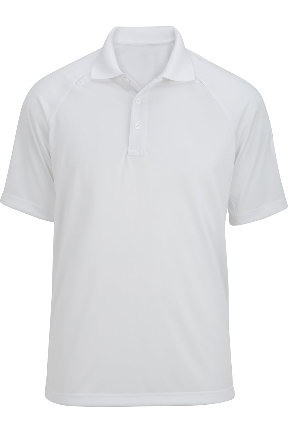 White Edwards Mens Tactical Snag-Proof Short Sleeve Polo