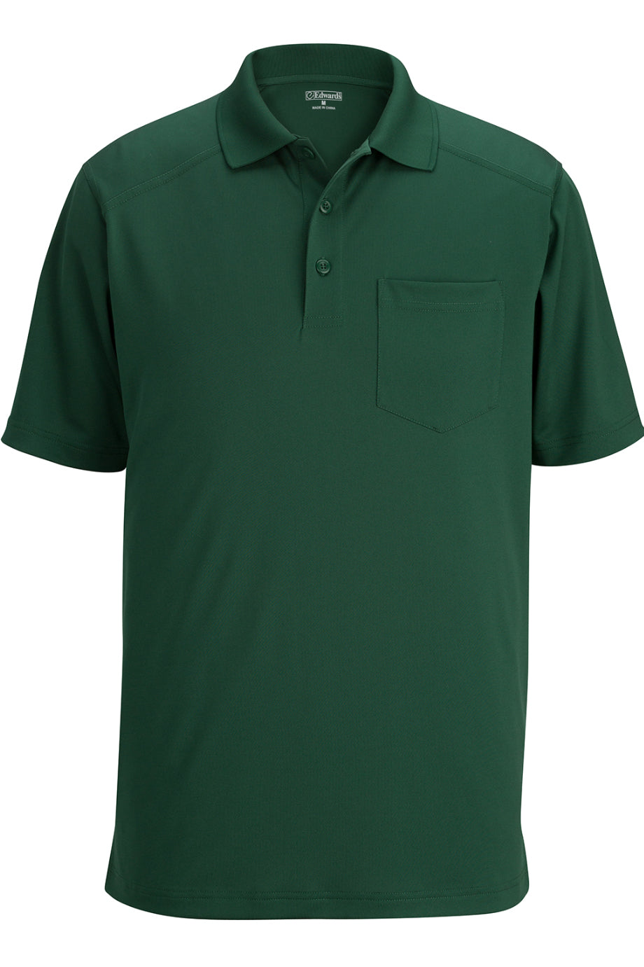 Fern Green Edwards Unisex Snag Proof Polo With Pockets