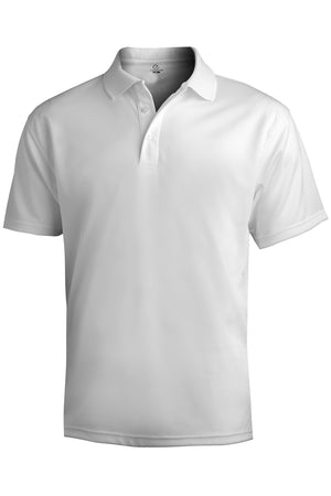 Edwards Mens Hi-Performance Mesh Short Sleeve Polo