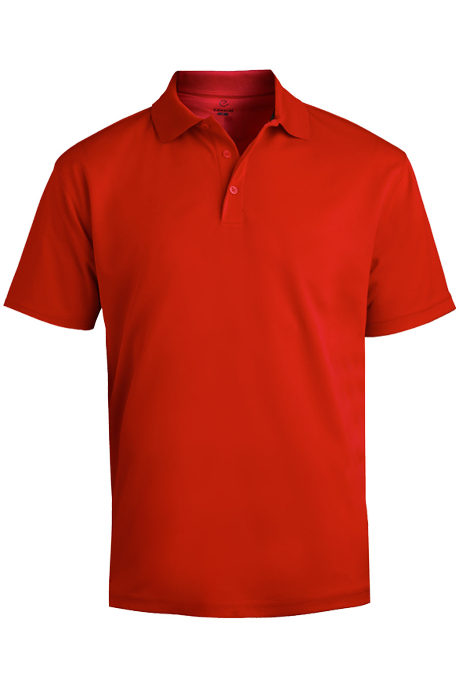 Red Edwards Mens Hi-Performance Mesh Short Sleeve Polo
