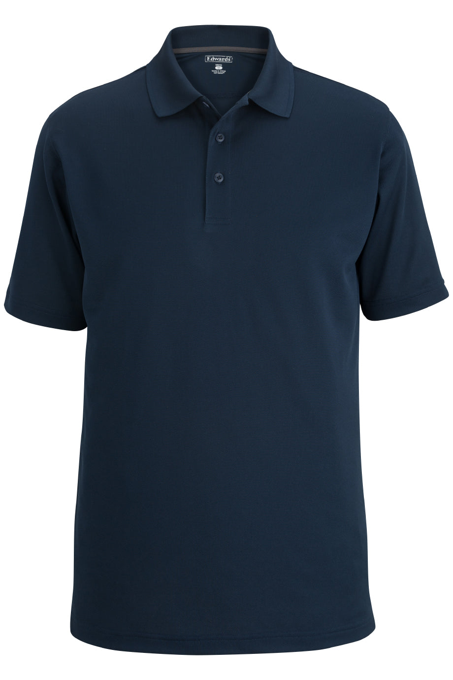 Bright Navy Edwards Mens Airgrid Polo