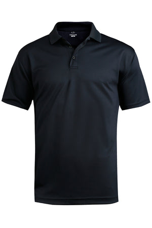 Edwards Mens Performance Flat-Knit Short Sleeve Polo