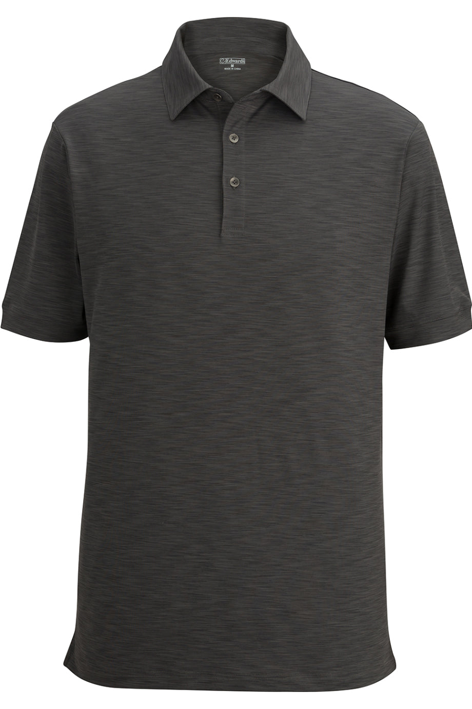 Steel Grey Edwards Mens Optical Polo