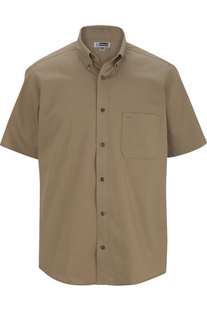 Edwards Mens Cottonplus Short Sleeve Twill Shirt