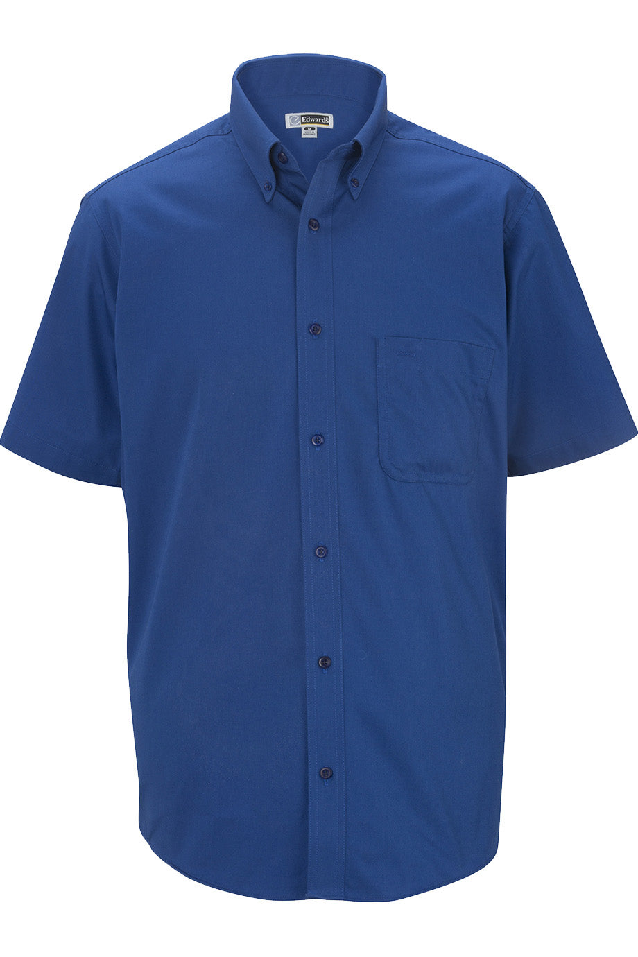 Royal Edwards Mens Cottonplus Short Sleeve Twill Shirt